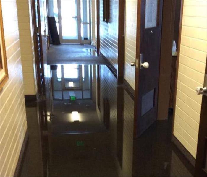 Flooded Church in Orem Before