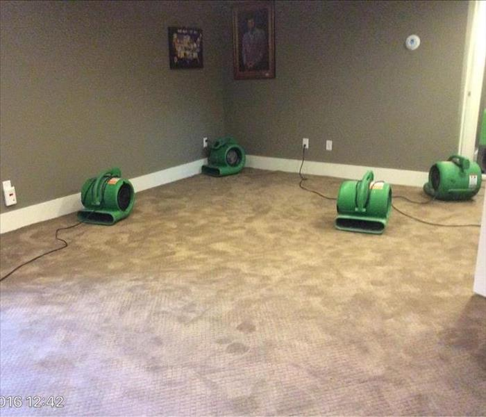 Drying Wet Carpet Quickly